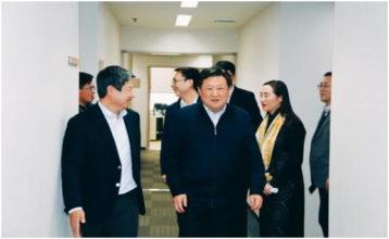 Secretary Yan Lijun and Mayor Wu Kaihua of Xigang District, Dalian City, Visit Itabashi Medical Device Co., Ltd. Dalian