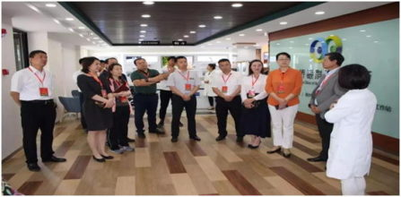 Dalian People's Congress Xigang District Committee Visits Kangqiao Clinic of Ophthalmology and Optometry