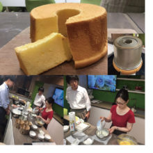 Test baking and tasting of chiffon cakes (Shanghai)