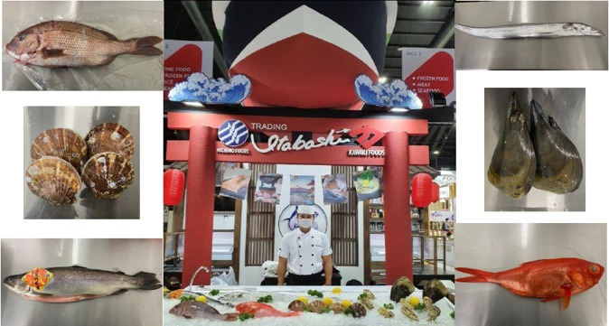 We exhibited at THAIFEX(Food Expo in Thailand).