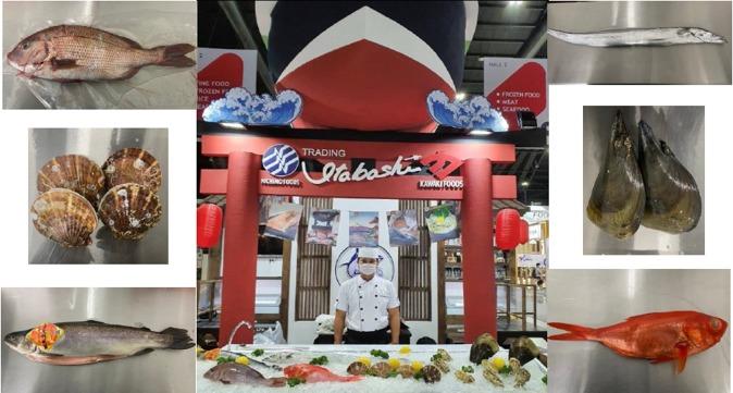 我們參加了THAIFEX(泰國食品展覽會)
